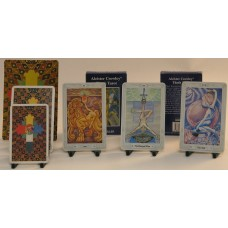 Crowley Tarot Deck (Large) by Aleister Crowley illustrated by Lady Frieda Harris
