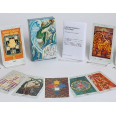 Crowley Thoth Tarot Deck Standard by Aleister Crowley illustrated by Lady Frieda Harris