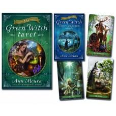 Green Witch Tarot by Ann Moura and artist Kiri Ostergaard Leonard