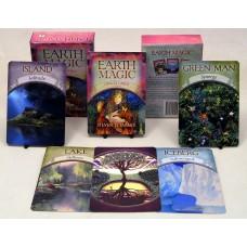 Earth Magic Oracle Cards by Steven D Farmer
