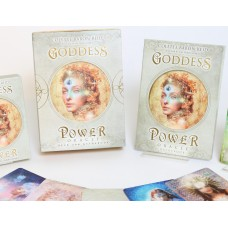 Goddess Power Oracle Cards by Colette Baron-Reid, illustrated by Jena DellaGrottaglia