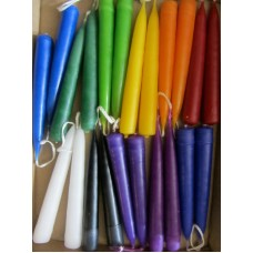 Solid Colour Spell Tree Chime Candles 45min Burn Time