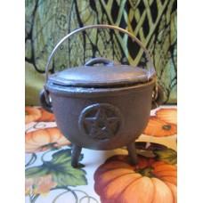 Cauldron 11cm Pentagram