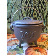Cauldron 15cm Triple Moon