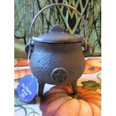 Cauldron 7.5cm Pentagram