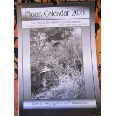 2021 Moon Calendar Blue Ball Press