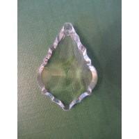 Rainbow Glass Sun Catcher - 38mm leaf, clear
