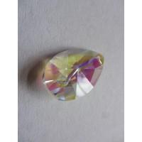 Rainbow Glass Sun Catcher - 38mm, tear, AB Ionised