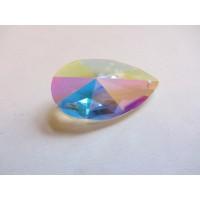 Rainbow Glass Sun Catcher - 50mm, tear, AB Ionised