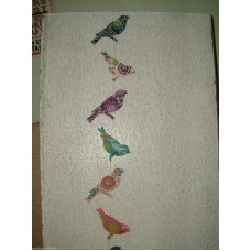 Hanging paper mobile - Bird design