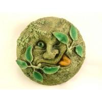 Handmade Green Man Wall Plaque 14cm - The Tree Spirit Summer
