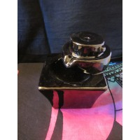 Backflow round to square incense burner