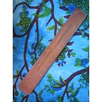 Carved wooden incense holder