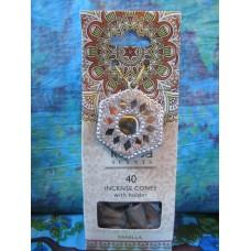Vanilla incense cone gift set