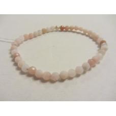 Pink Opal Facet Bracelet 19cm