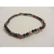 Ruby & Sapphire Facet Bracelet 19cm