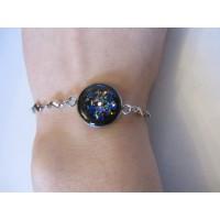 Shungite chain bracelet 19cm