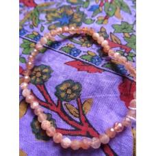 Sunstone Facet Bracelet 19cm