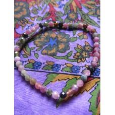Tourmaline Mix Facet Bracelet 19cm