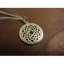 Crown Chakra Pendant Sterling Silver
