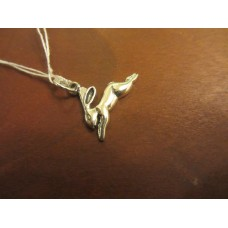 Hare charm Sterling Silver