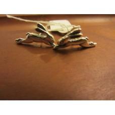 Hare stud earrings Sterling Silver