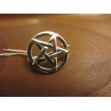 Pentagram brooch Sterling Silver