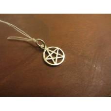 Pentagram pendant XS Sterling Silver