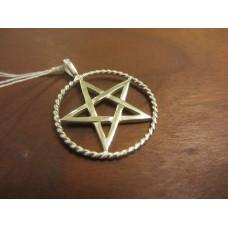 Pentagram pendant Sterling Silver