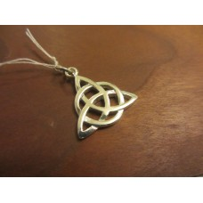 Triple goddess triquetra pendant Sterling Silver