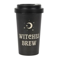 Witches Brew Bamboo Travel Mug