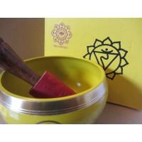 10cm Solar Plexus Chakra Singing Bowl