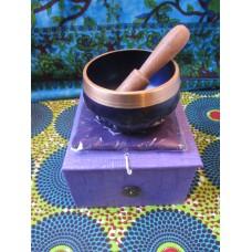 8cm Chakra Singing Bowl Set - Crown