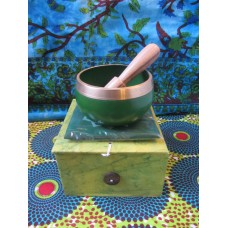 8cm Chakra Singing Bowl Set - Heart