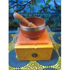 8cm Chakra Singing Bowl Set - Navel