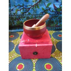 8cm Chakra Singing Bowl Set - Root