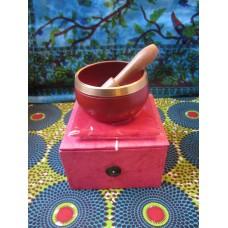 8cm Chakra Singing Bowl Set - Root