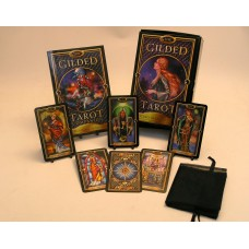 Gilded Tarot Cards Deck and Book set