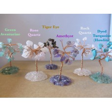 Crystal gem trees, various
