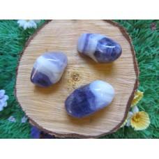 Banded Amythest Tumblestones 30-40mm