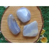 Blue Lace Agate Tumblestones 30-40mm