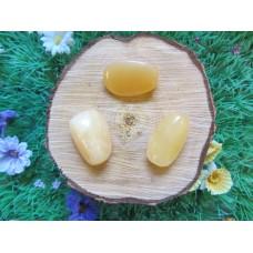 Orange Calcite Tumblestones 20-30mm