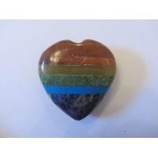 Chakra Crystal heart 45-60mm