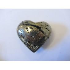 Pyrite heart 50mm