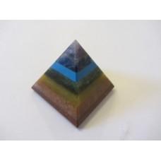 Chakra Crystal pyramid 30-35mm