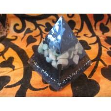Handmade Orgonite pyramid (#3)