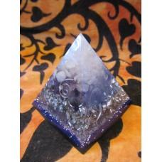 Handmade Orgonite pyramid (#5)