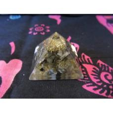 Orgonite pyramid 25mm (#2)
