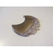 Agate with Amethyst moon 50mm