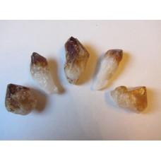 Citrine (Heat Treated Amethyst) points 1-2 inch